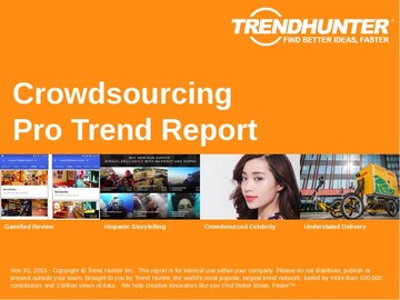 Crowdsourcing Trend Report and Crowdsourcing Market Research