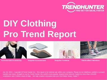 DIY Clothing Trend Report and DIY Clothing Market Research