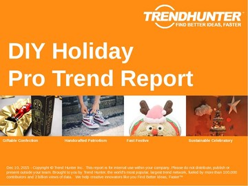 DIY Holiday Trend Report and DIY Holiday Market Research