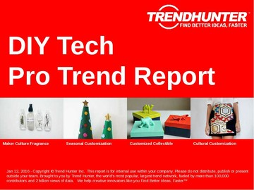 DIY Tech Trend Report and DIY Tech Market Research