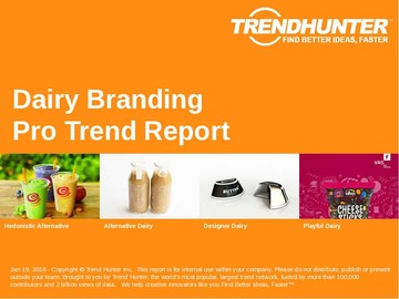 Dairy Branding Trend Report and Dairy Branding Market Research