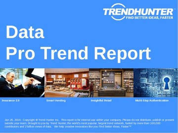 Data Trend Report and Data Market Research
