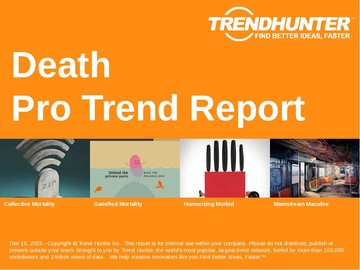 Death Trend Report and Death Market Research