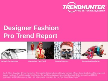 Designer Fashion Trend Report and Designer Fashion Market Research