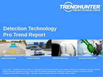 Detection Technology Trend Report and Detection Technology Market Research