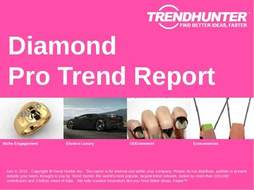 Diamond Trend Report and Diamond Market Research