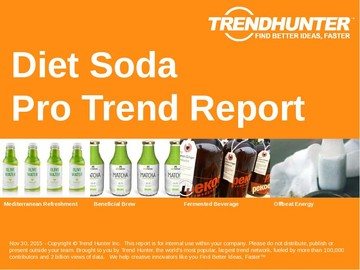 Diet Soda Trend Report and Diet Soda Market Research