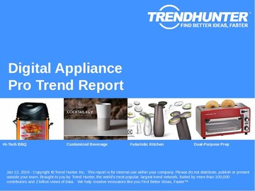 Digital Appliance Trend Report and Digital Appliance Market Research