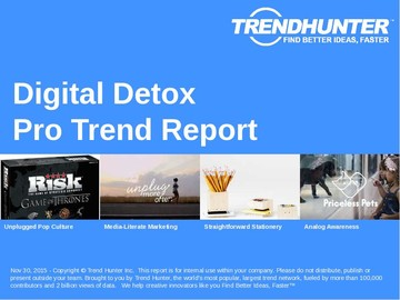 Digital Detox Trend Report and Digital Detox Market Research