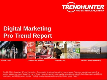 Digital Marketing Trend Report and Digital Marketing Market Research