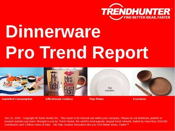 Dinnerware Trend Report and Dinnerware Market Research