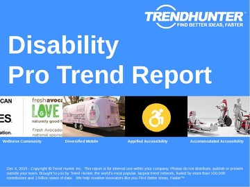 Disability Trend Report and Disability Market Research