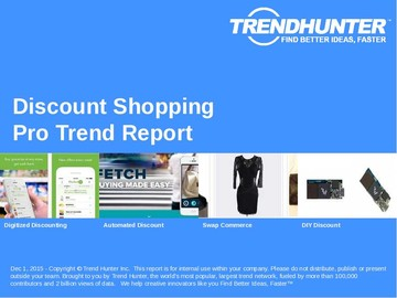 Discount Shopping Trend Report and Discount Shopping Market Research