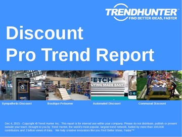 Discount Trend Report and Discount Market Research
