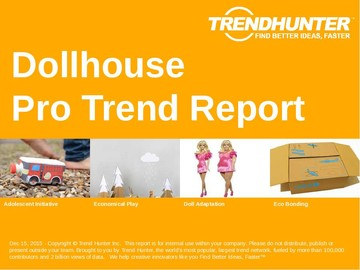 Dollhouse Trend Report and Dollhouse Market Research