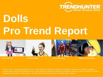 Dolls Trend Report and Dolls Market Research