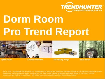 Dorm Room Trend Report and Dorm Room Market Research