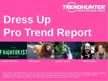 Dress Up Trend Report and Dress Up Market Research