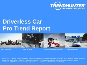 Driverless Car Trend Report and Driverless Car Market Research