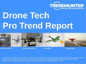 Drone Tech Trend Report and Drone Tech Market Research