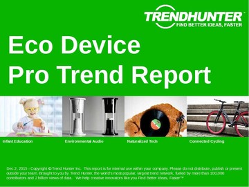 Eco Device Trend Report and Eco Device Market Research