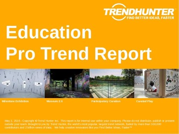 Education Trend Report and Education Market Research