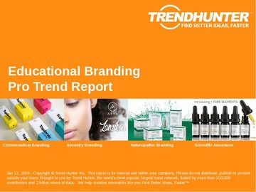 Educational Branding Trend Report and Educational Branding Market Research