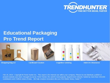 Educational Packaging Trend Report and Educational Packaging Market Research