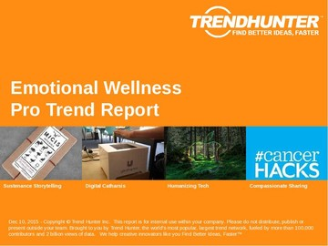 Emotional Wellness Trend Report and Emotional Wellness Market Research