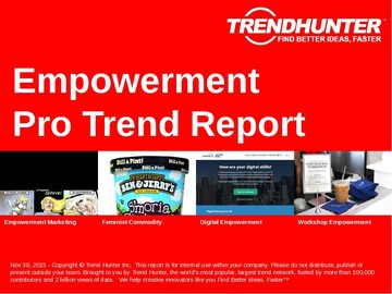 Empowerment Trend Report and Empowerment Market Research