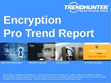 Encryption Trend Report and Encryption Market Research