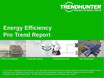 Energy Efficiency Trend Report and Energy Efficiency Market Research