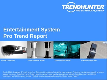 Entertainment System Trend Report and Entertainment System Market Research