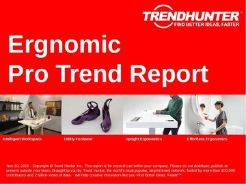 Ergnomic Trend Report and Ergnomic Market Research