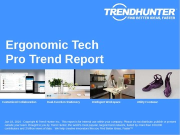 Ergonomic Tech Trend Report and Ergonomic Tech Market Research