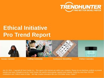 Ethical Initiative Trend Report and Ethical Initiative Market Research