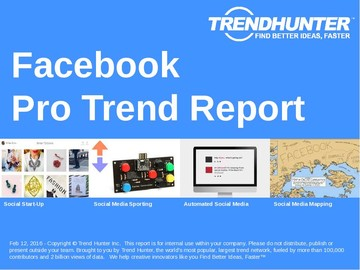 Facebook Trend Report and Facebook Market Research