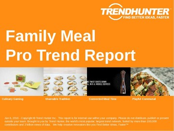 Family Meal Trend Report and Family Meal Market Research