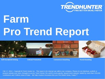 Farm Trend Report and Farm Market Research