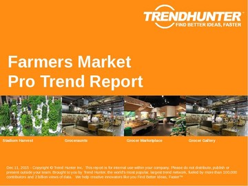 Farmers Market Trend Report and Farmers Market Market Research