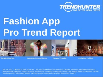 Fashion App Trend Report and Fashion App Market Research