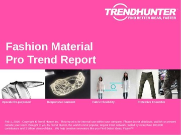 Fashion Material Trend Report and Fashion Material Market Research