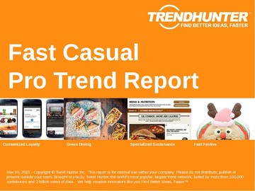 Fast Casual Trend Report and Fast Casual Market Research