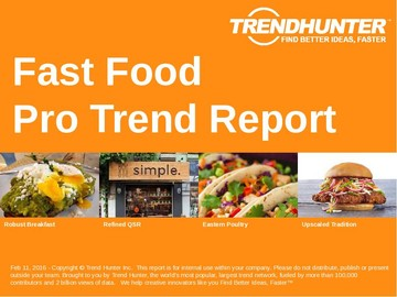Fast Food Trend Report and Fast Food Market Research