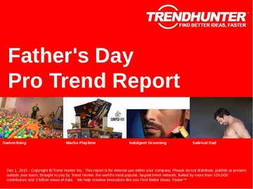 Father's Day Trend Report and Father's Day Market Research