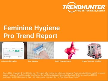 Feminine Hygiene Trend Report and Feminine Hygiene Market Research