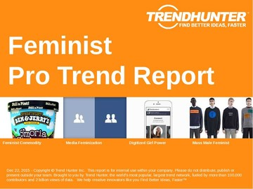 Feminist Trend Report and Feminist Market Research
