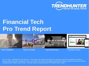 Financial Tech Trend Report and Financial Tech Market Research