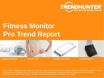 Fitness Monitor Trend Report and Fitness Monitor Market Research