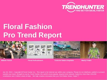 Floral Fashion Trend Report and Floral Fashion Market Research